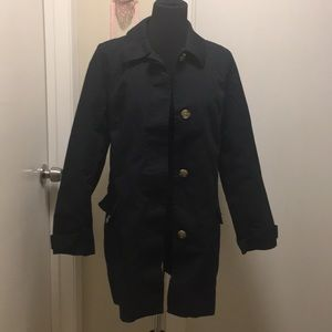 Old navy 100% cotton trench coat size large